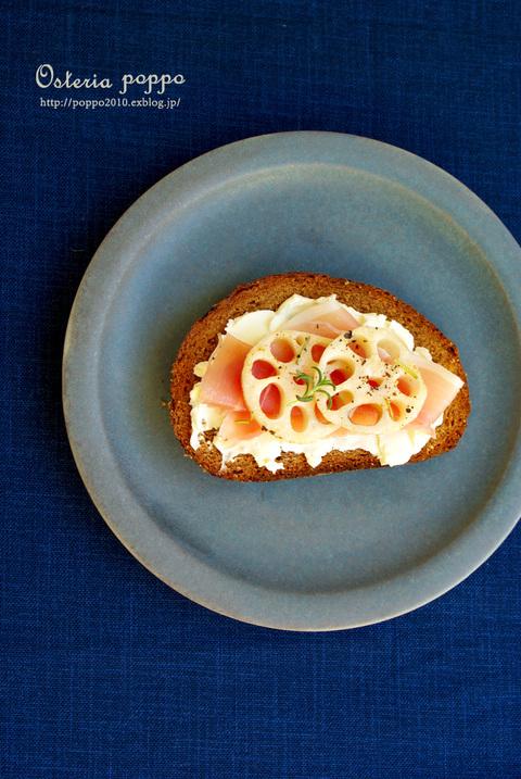 フィンランドのパン、ペルナリンプ de オープンサンド♪_d0159001_21434086.jpg
