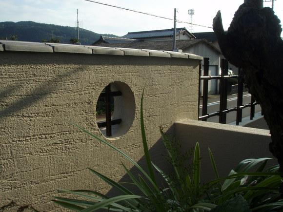 日南市H様邸和風塀renovation工事_b0236217_2123512.jpg