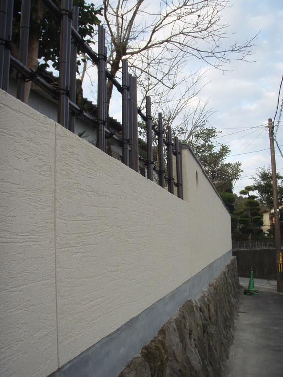 日南市H様邸和風塀renovation工事_b0236217_21305553.jpg