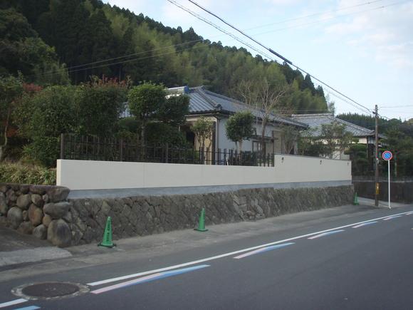 日南市H様邸和風塀renovation工事_b0236217_21342671.jpg