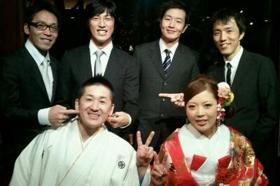 会長、まさこちゃん結婚式_e0173533_17404381.jpg