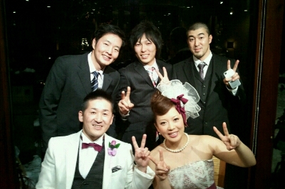 会長、まさこちゃん結婚式_e0173533_17431086.jpg