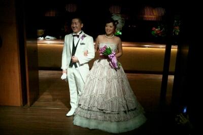 会長、まさこちゃん結婚式_e0173533_17433464.jpg