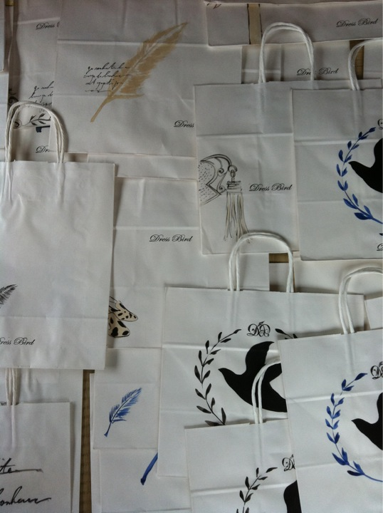 Dress birdさんの紙袋_f0189549_2221069.jpg