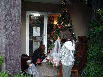 クリスマスツリーを出しました!_e0173183_10201569.jpg