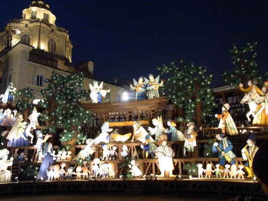 元シェフのボンゴレ・ビアンコ & トリノのクリスマス飾り☆_b0246303_3113549.jpg