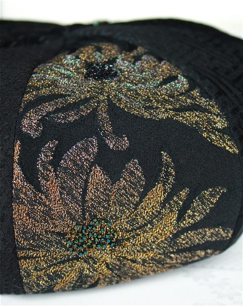 ベレー帽!ビーズ刺繍「Bonnie2号」完成!_f0170519_22382359.jpg