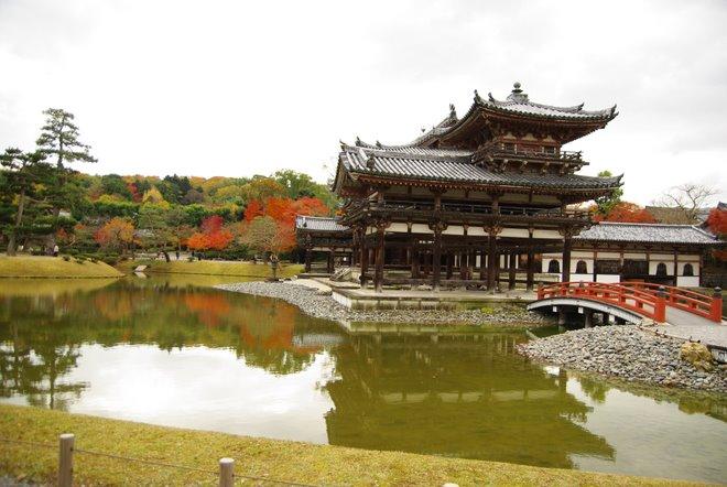 再び京都へ 宇治 平等院_e0171336_2350044.jpg