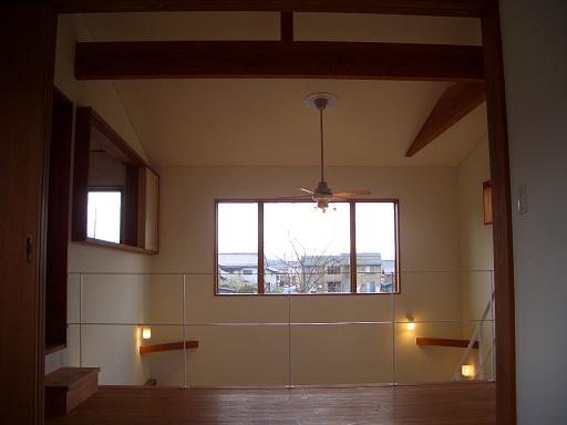 設計事務所の家づくり 『リビングにつながる子供部屋』 _b0146238_157390.jpg