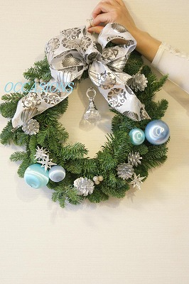 Christmas wreath lesson_e0158355_7594847.jpg