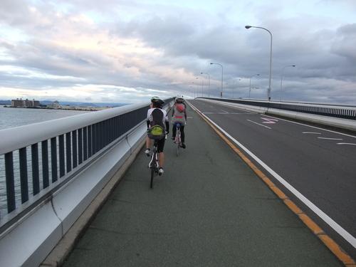 琵琶湖一周サイクリング180km ~湖西編~_d0174462_3193758.jpg