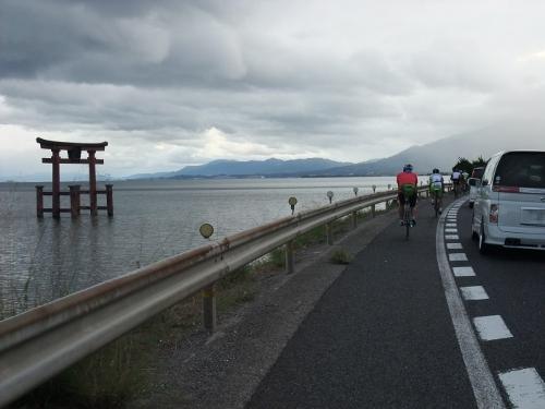 琵琶湖一周サイクリング180km ~湖西編~_d0174462_371838.jpg
