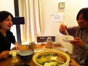 ソカバンの夜鍋♪_a0077907_18463596.jpg