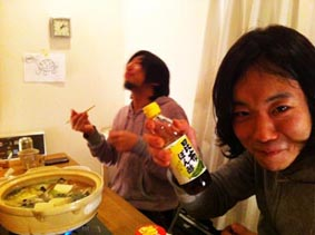 ソカバンの夜鍋♪_a0077907_18464549.jpg