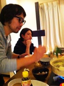 ソカバンの夜鍋♪_a0077907_18465385.jpg
