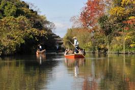 柳川の川下りと観光_a0042310_1538466.jpg