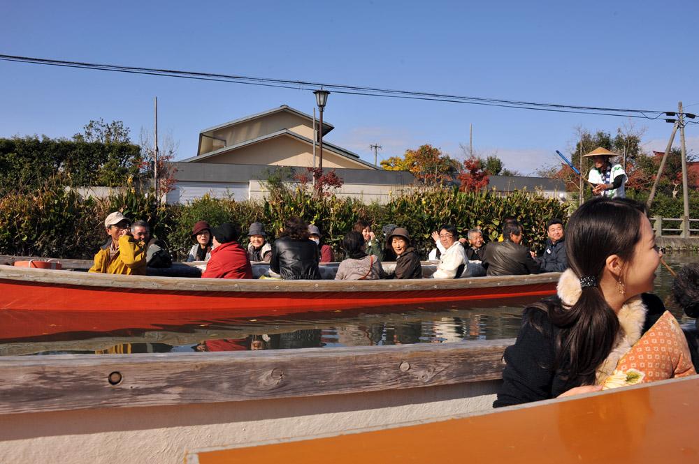 柳川の川下りと観光_a0042310_16231975.jpg