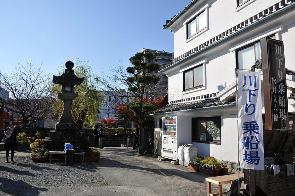柳川の川下りと観光_a0042310_1663142.jpg