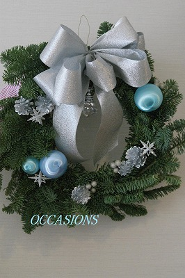 クリスマスリース&ツリー・レッスン_e0158355_13411133.jpg