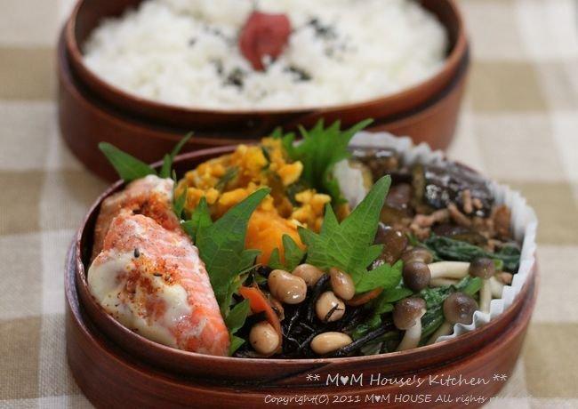 鮭のマヨ七味 ☆ 今日のお弁当♪_c0139375_10593215.jpg