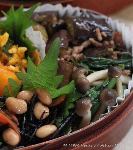 鮭のマヨ七味 ☆ 今日のお弁当♪_c0139375_1101212.jpg