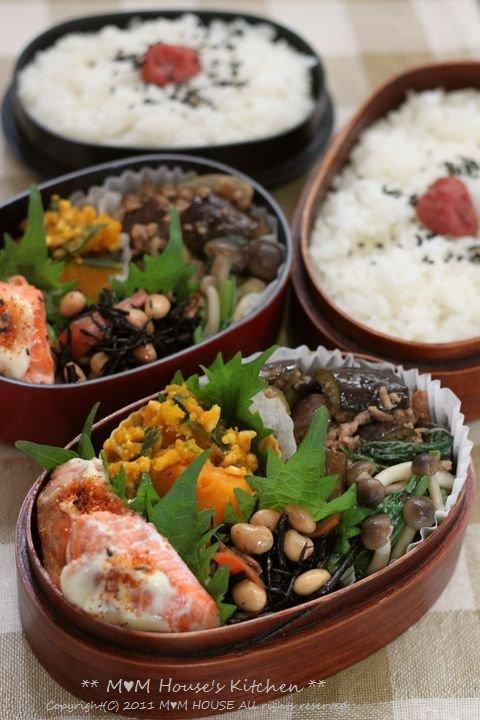 鮭のマヨ七味 ☆ 今日のお弁当♪_c0139375_1104816.jpg