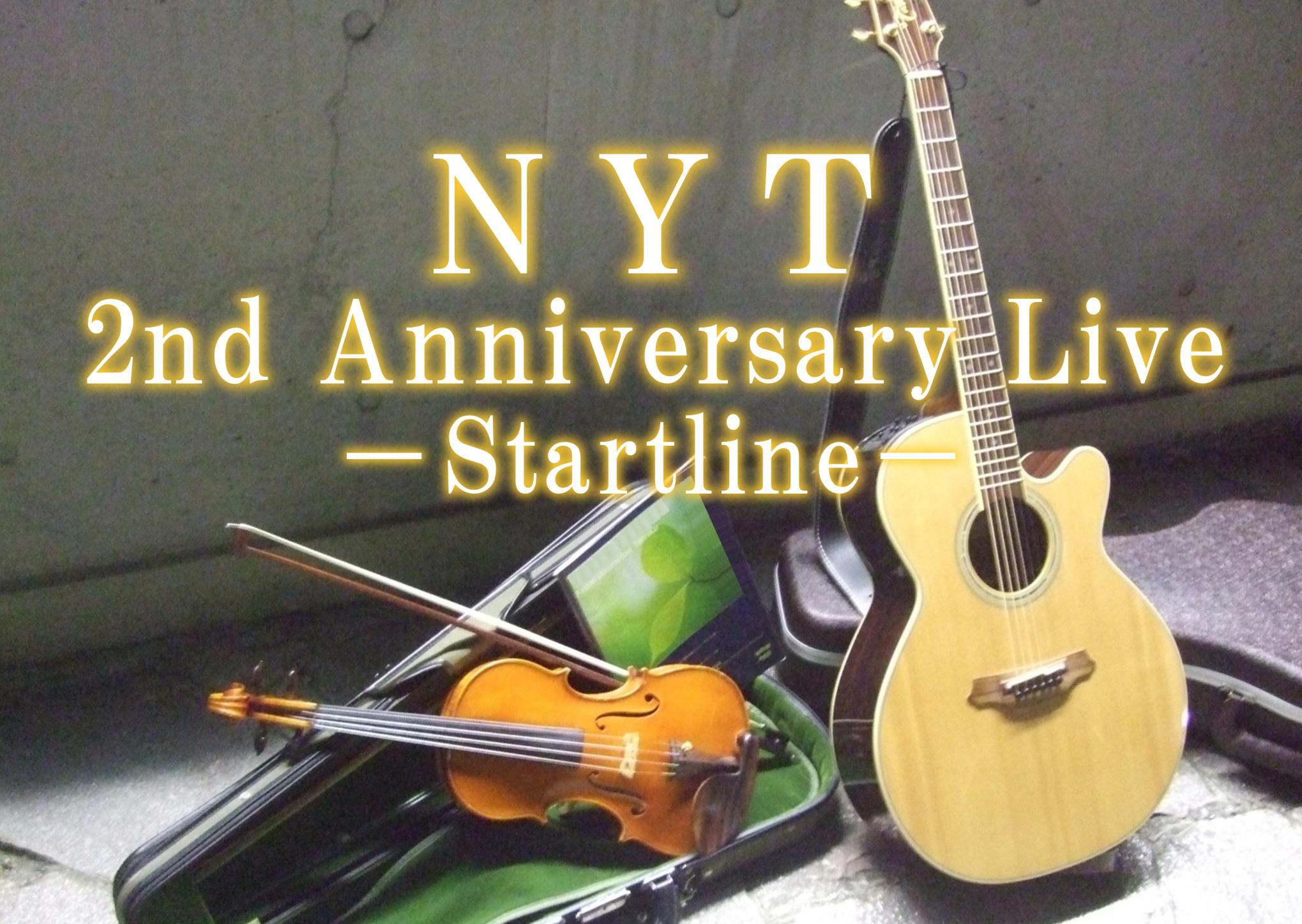 NYT 2nd Anniversary Liveのお知らせ_c0131878_17444945.jpg