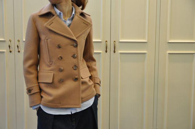寒くなりました 。 Pコートなど ・・・_b0110586_20122595.jpg