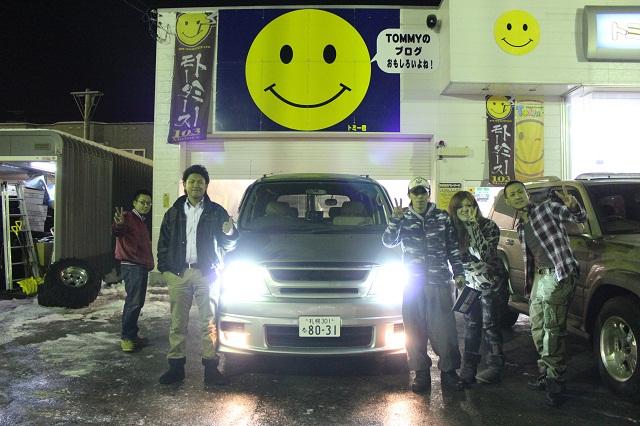 ランクル TOMMY札幌店 12月8日!小野様 グランビア 納車☆_b0127002_22473116.jpg