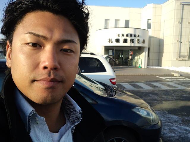 ランクル TOMMY札幌店 12月8日!小野様 グランビア 納車☆_b0127002_2255445.jpg
