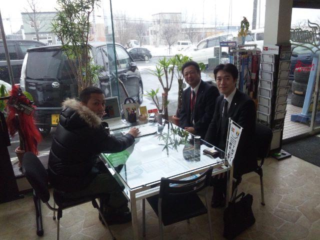 ランクル TOMMY札幌店 12月8日!小野様 グランビア 納車☆_b0127002_2304024.jpg