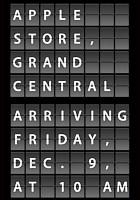 アップル・ストア(グランドセントラル駅店)、今週12/9(金)午前10時いよいよオープンへ!!! _b0007805_1584080.jpg