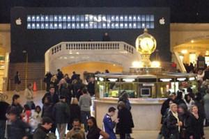 アップル・ストア(グランドセントラル駅店)、今週12/9(金)午前10時いよいよオープンへ!!! _b0007805_1584811.jpg