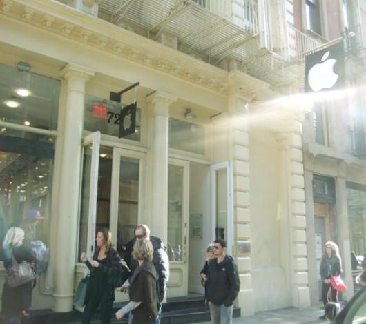 ニューヨークのアップル・ストア(SOHO店)は改装工事中_b0007805_461955.jpg