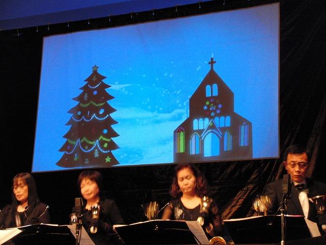 「MAUハンドベルリンガーズ」のクリスマスコンサート_f0141310_6544677.jpg