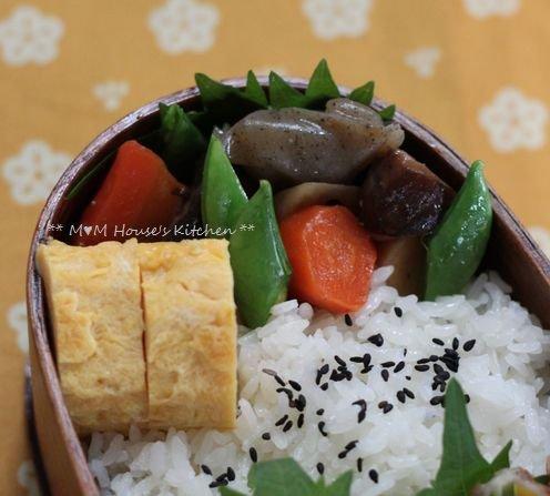 今日のお弁当 ☆ ケンタロウレシピ・大根とカリカリ鶏のサラダ仕立て♪_c0139375_11214133.jpg