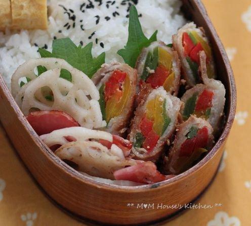 今日のお弁当 ☆ ケンタロウレシピ・大根とカリカリ鶏のサラダ仕立て♪_c0139375_1121851.jpg