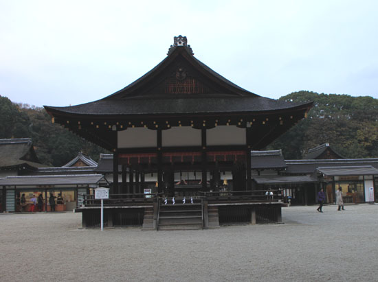 下鴨神社 紅葉の終盤_e0048413_16144241.jpg