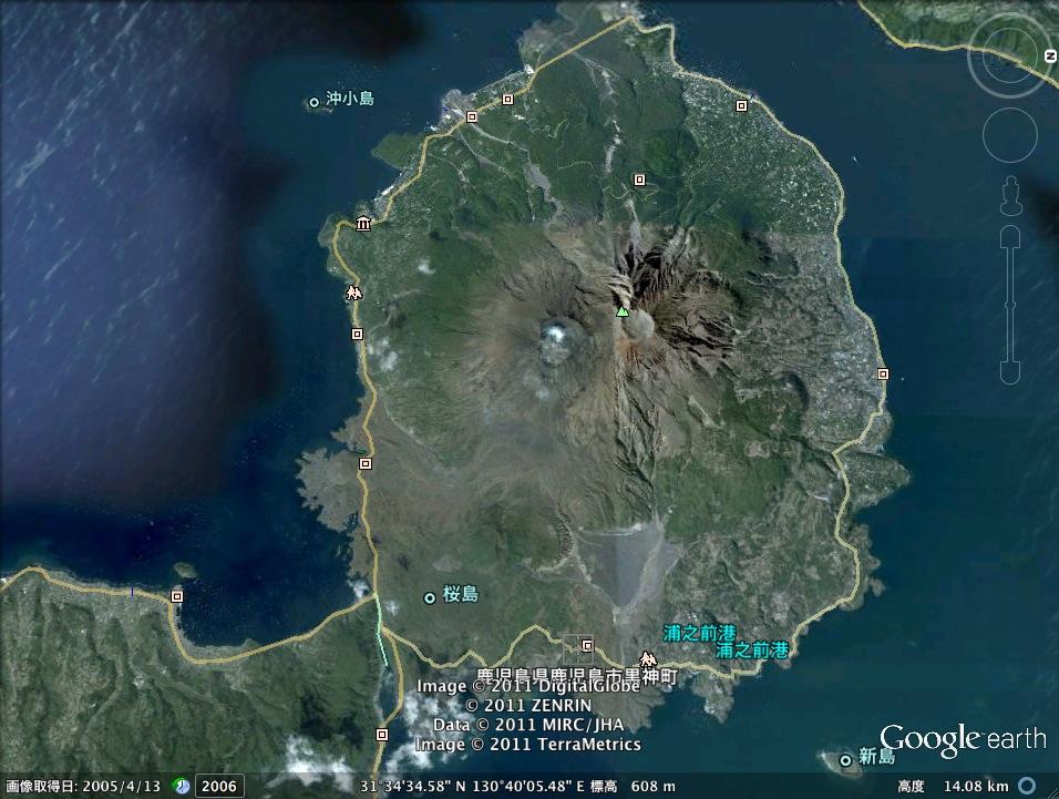 桜島の噴火ミステリー:どこからこのエネルギーは来るのか?_e0171614_2104719.jpg