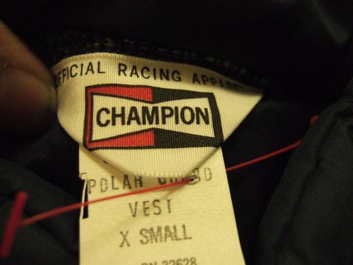 デッドストック!70'S CHANPION NYLO JKT & ベスト!_c0144020_14143349.jpg