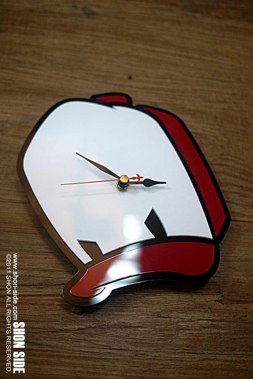 Cap Duck Clock完成。_a0077842_821412.jpg