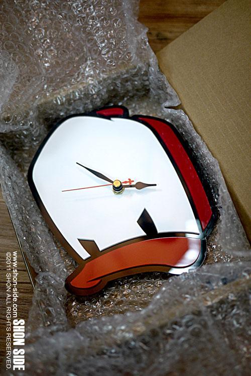 Cap Duck Clock完成。_a0077842_8311266.jpg