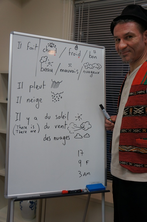 今学期のフランス語クラス最終日  Last Lesson 2011_e0247444_1151036.jpg