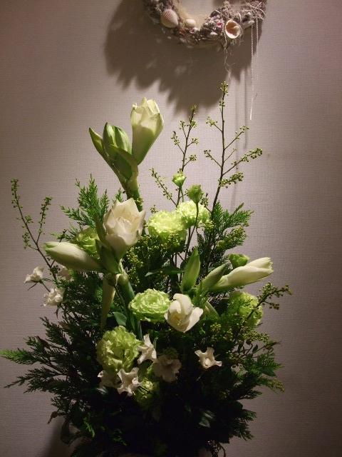 オークリーフ(お悔やみのお花)_f0049672_18564527.jpg