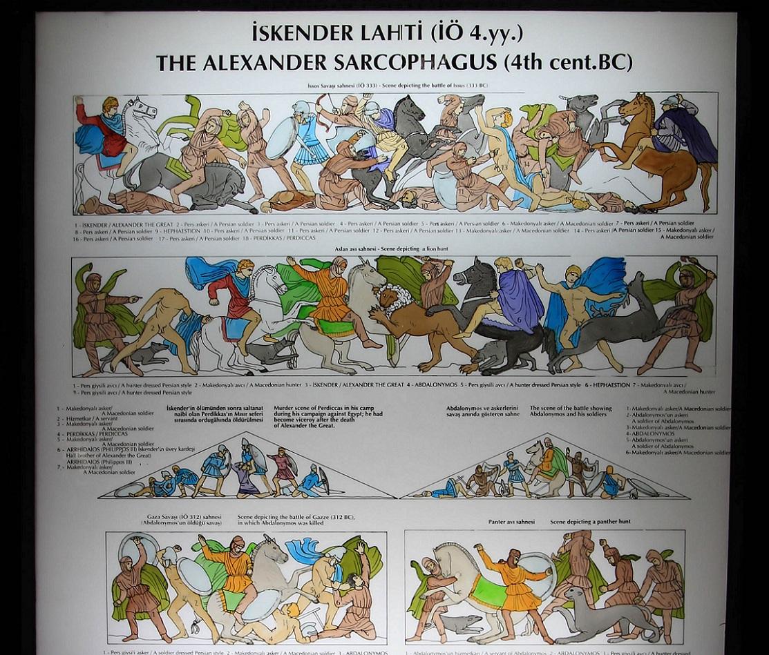 アレキサンダー大王の棺 その2   イスタンブール その15_a0107574_17191120.jpg