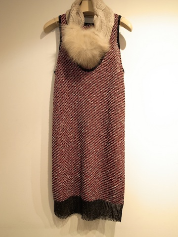 Metallic Boucle Tank Dress_f0111683_17595448.jpg