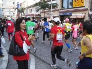 那覇マラソンで応援_f0150886_1615957.jpg