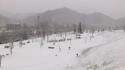 雪降っちゃいましたねぇ・・・_b0219993_16202421.jpg