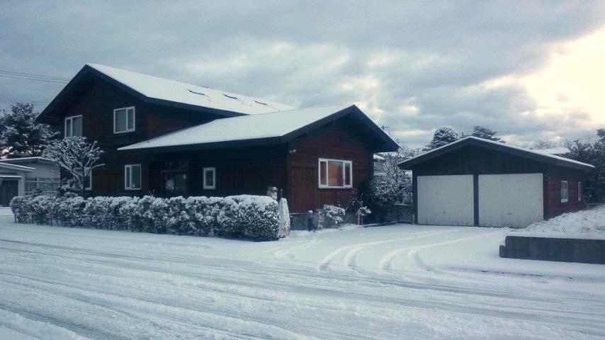 今年、初めて雪が積もる!_f0150893_1734442.jpg