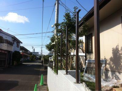 宮崎市O様邸木塀工事_b0236217_2193158.jpg
